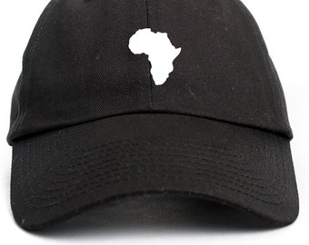 9405852e18f Africa Unstructured Baseball Dad Hat Strap back Adjustable Many Colors  Available