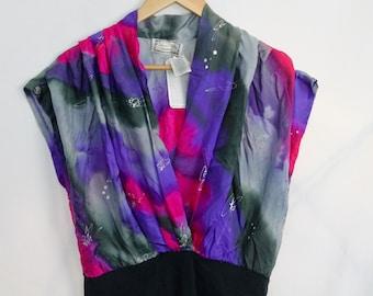 4650ab740c 1980s Silk Bodysuit