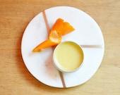 Mandarin Vegan Lip Balm Natural Lip Balm
