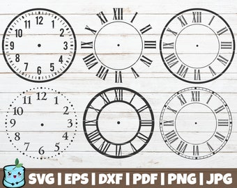 picture about Printable Clock Face Template referred to as Printable clock confront Etsy
