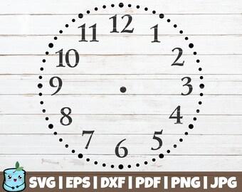Printable clock face | Etsy