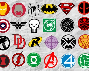 superheroes etsy