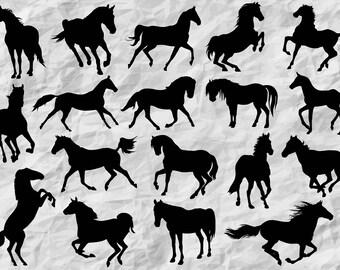 horse printable etsy