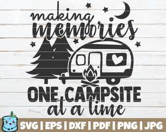 Camping Cut File Etsy