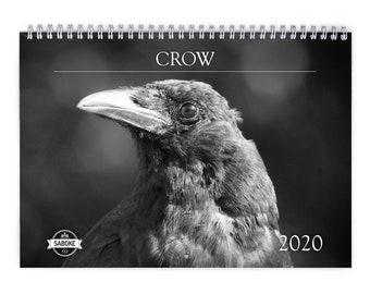 Crow calendar | Etsy