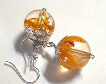 Calendula earrings