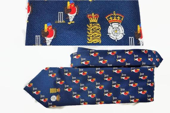 Robin Smith Cricket Tie - Cricket memorabilia Bene