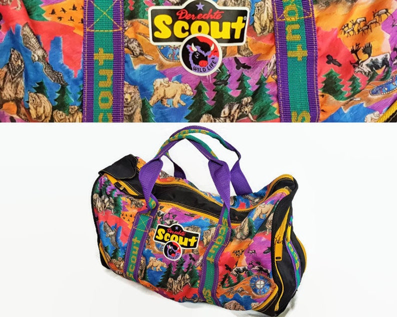 Vintage Der Echte Wild Life Scout sac / Sac de sport