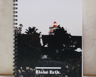 Cascais Lighthouse Travel Notebook