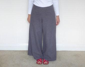 Women's Wide Leg Trousers(Beach Pant) - PDF Pattern-Digital Download