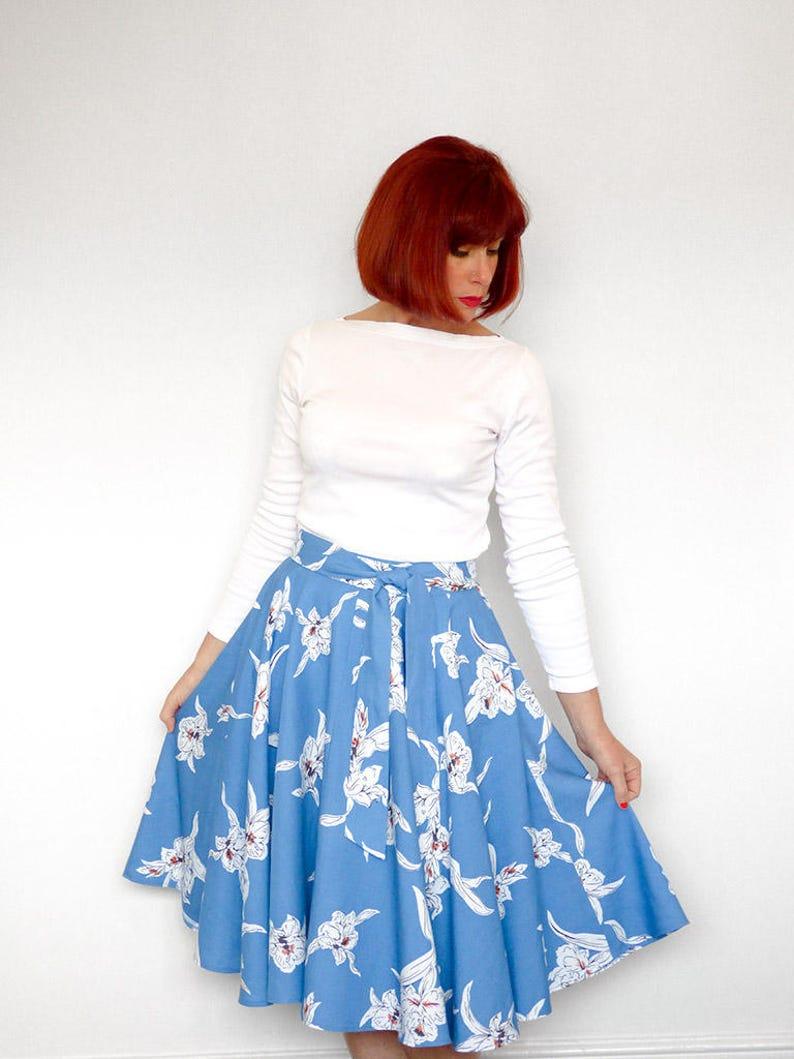 Women's Wrap Skirt  PDF PatternDigital Download image 0