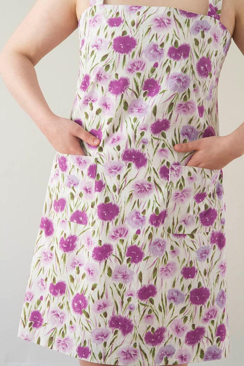 Women's Pinafore Dress  PDF Pattern-Digital Download image 0