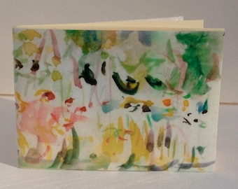 Password Booklet Watercolor