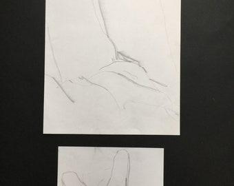 original life drawing•pencil•sketch