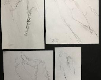 original life drawing•pencil• legs• feet•sketches