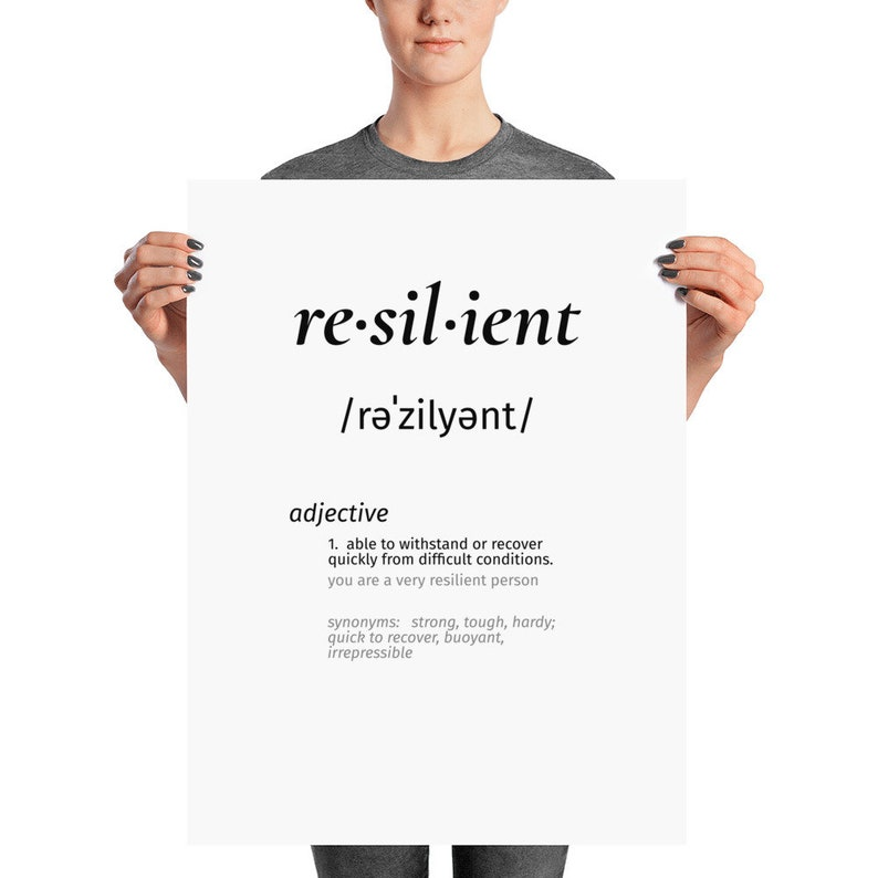 what is the meaning of the word resilient