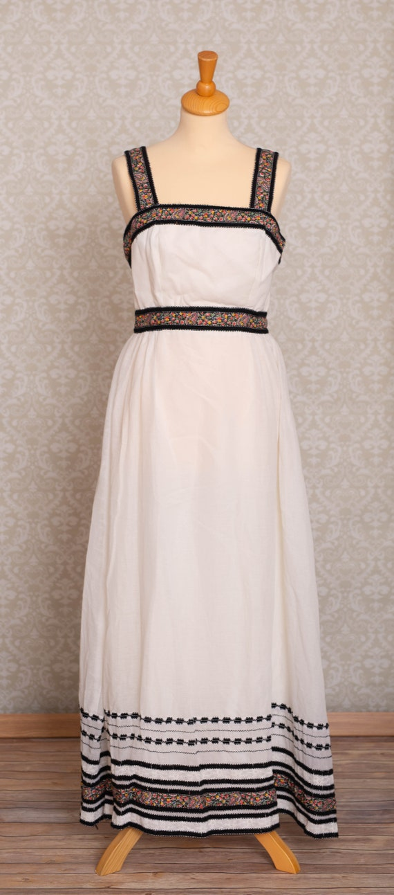 1970s Boho Women Dress - image 1