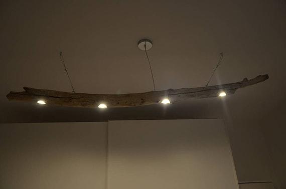 Plafoniere Con Base In Legno : Lampadario legno faretti zeppy flamma