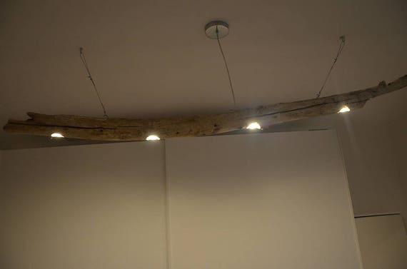 Plafoniere Per Casa Al Mare : Lampadario da soffitto con tronco albero in legno plafoniera etsy