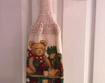 Hanging Kitchen Towel- Teddy Bear