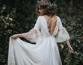 Serifos Silk Bohemian Wedding Dress I Boho Lässig Vintage Brautkleid Deutschland Europe Europa  Stone Fox Bride Glenda -esque  HuesOfVintage