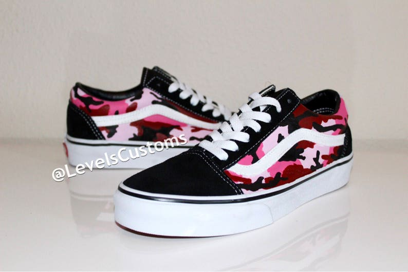 144ede9a74 Custom Color Camo Vans