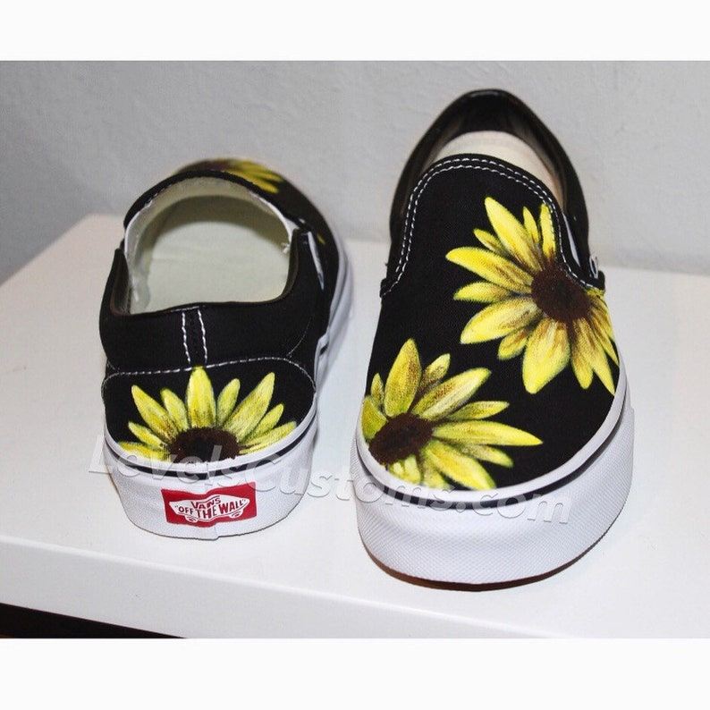 806a61ea179f3d Sunflower Custom Vans