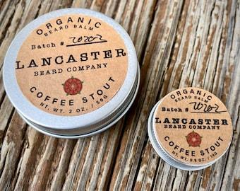 Organic Coffee Stout Beard Balm