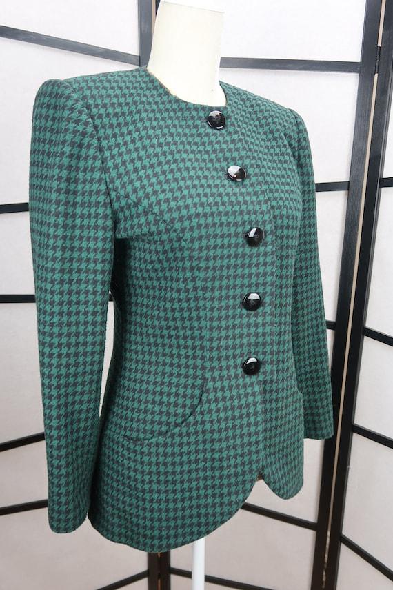 Simply Sasson // Vintage 1980s career jacket // bl