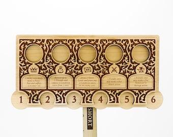 ASOIAF Combo Pack : Tactics Board, Ruler and Token Set