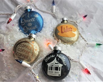 Gilmore Girls Inspired Ornaments - ONE