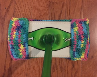 Swiffer Cover Cotton Pad  Multicolored - Eco Friendly Reusable Cleaning Mop Cover Duster