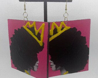 Rock Your Crown, Queen Earrings