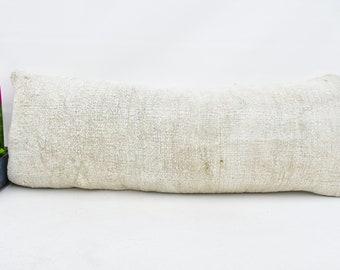 16x48 Cushion Pillow Bohemian Pillow 731 Hemp Pillow Kilim Pillow Boho Decor Pillow Lumbar Pillow,Home Gift Pillow,Home Decor Pillow