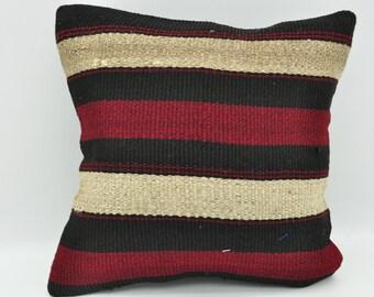 mutarda purple natural colors 12x12 Anatolian kilim pillow Home decor Throw pillow Bedroom pillow Vintage kilim pillow Pillow cover No 17