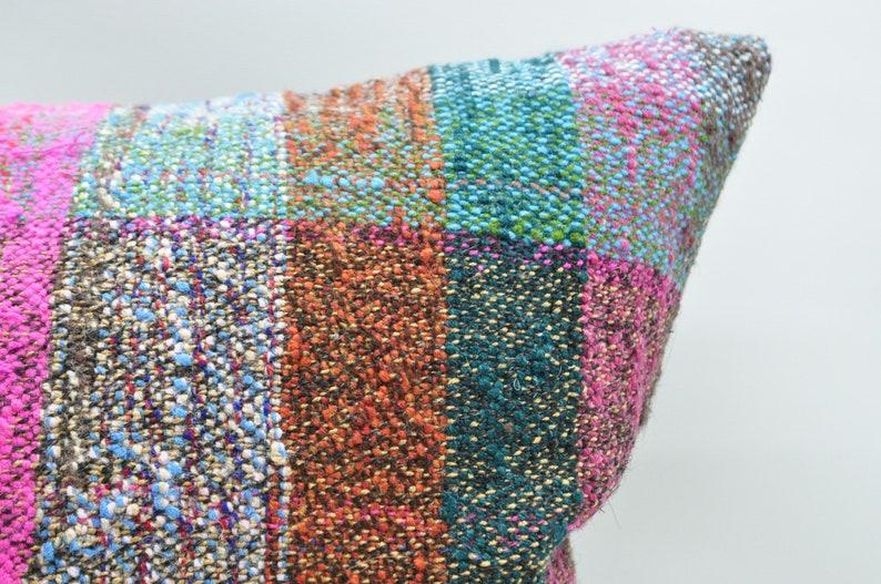 kilim pillow kilim pillow cover throw pillow 16x24 cushion cover oriental kilim pillow sofa pillow boho pillow No 1684