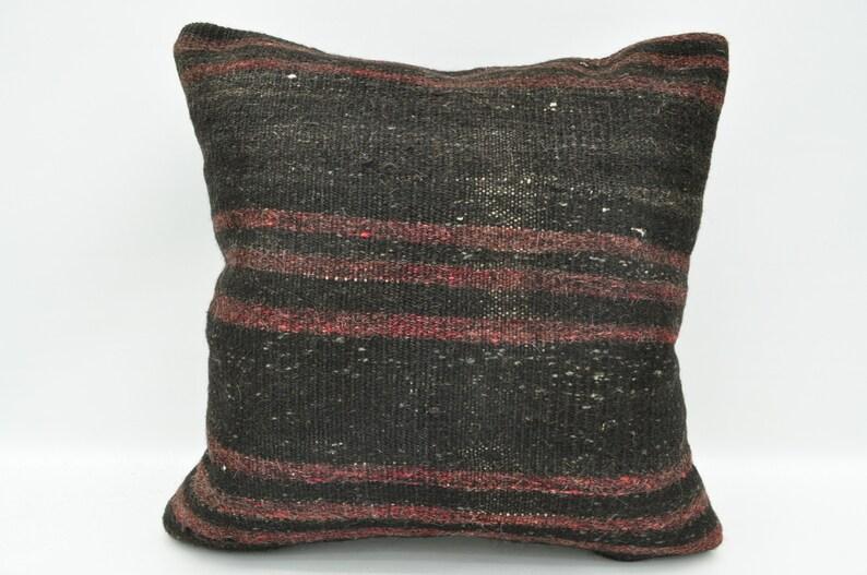 Home living Kilim cushion Home design Kilim pillow Kilim pillow cover Boho pillow Decorative pillow Vintage pillow Pillow 16*16in