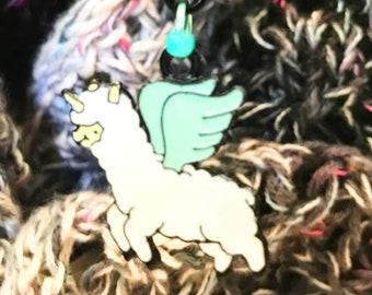 Look!  It's a Flying Ewe-nicorn!  Big Clippy! Progress Keeper