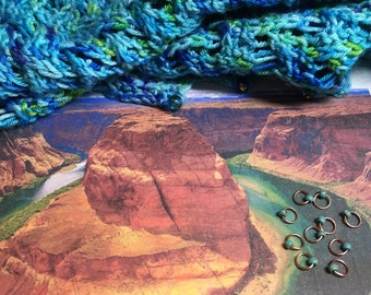 When at the Grand Canyon, Mind the Gap Snag-Free Stitch Markers