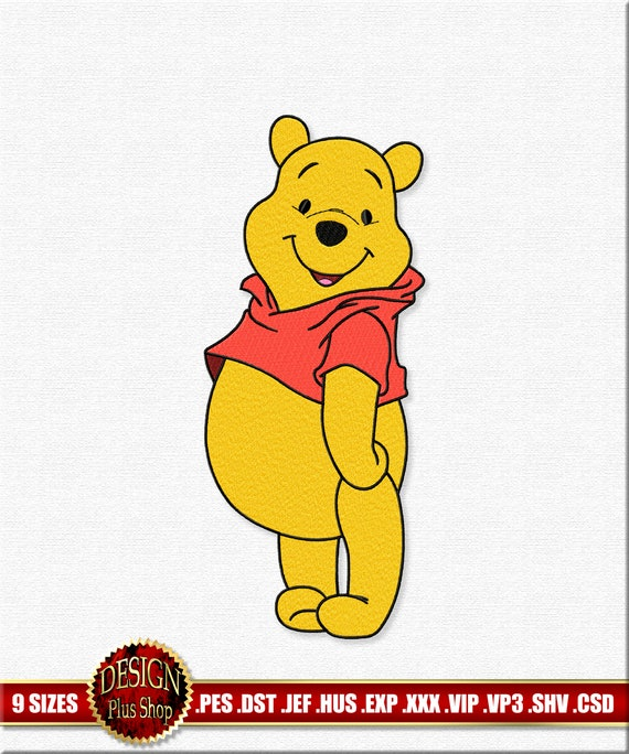 78 Winnie the Pooh Brother Machine Embroidery Designs files cards PES Download