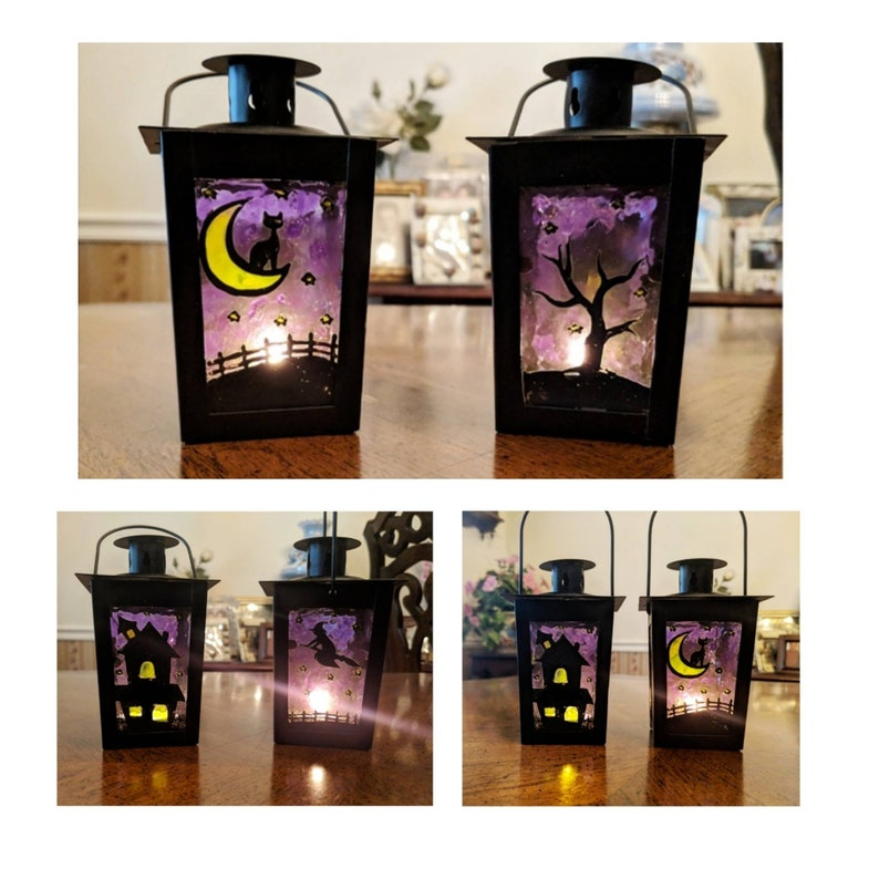 Custom Halloween Lantern by TheLookingGlass5066