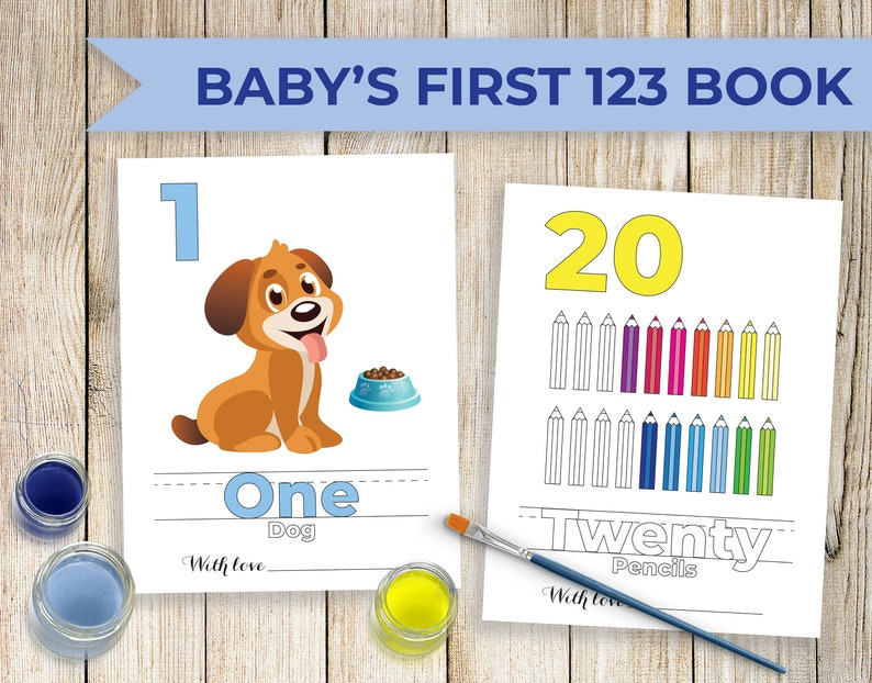 Baby Shower Coloring Book Baby S First 123 Coloring Book Baby Shower Coloring Activity For Baby Boy Baby Shower Drawing Activity Keepsake