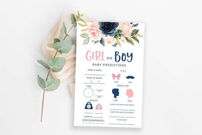 Karten zur Vorhersage des Babygeschlechts