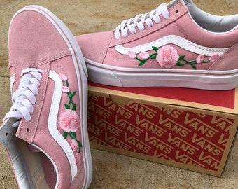 c0988bf738d9a4 Pink Vans old skool