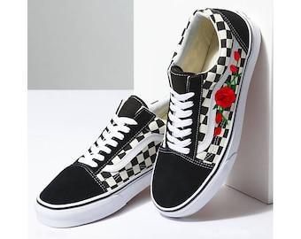 vans roses flower