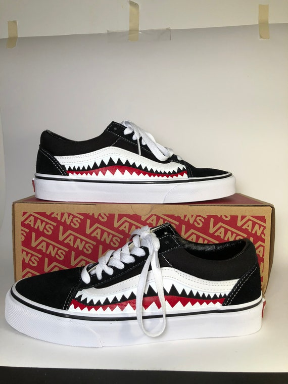 2e61f4422d Skool Bape Old Custom Vans Etsy Shoes nA0OBz1x