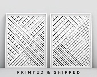 0677d927855 Set of 2 Minimalist Wall Art Print