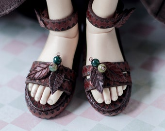 Berry Forest Sandals for BJD / MSD / 1/4