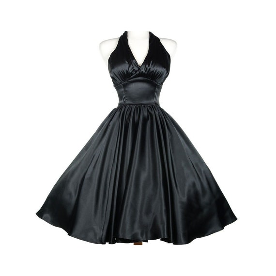 Gorgeous Pinup Couture Dixiefried Black Monroe Swi
