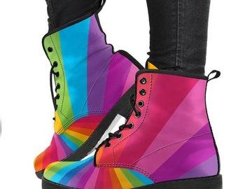 cfc4e09d609 Rainbow Gift Rainbow Boots  Rainbow Shoes - PP-HB-025